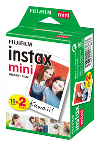 Film Instax mini FUJIFILM, lot de 2