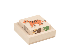 Puzzle cube animaux sauvages « Kiener » TRAUFFER