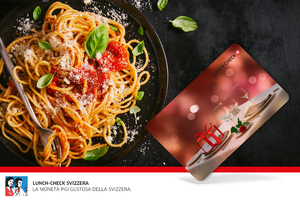 Carta regalo Lunch-Check Svizzera da fr. 50,-