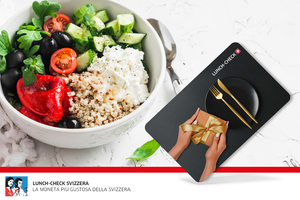 Carta regalo Lunch-Check Svizzera da fr.100,-